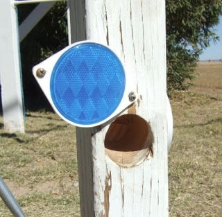 One idea for a hide I'm planning... reflector geocache; also good for hiding a spare key in case you lock yourself out.