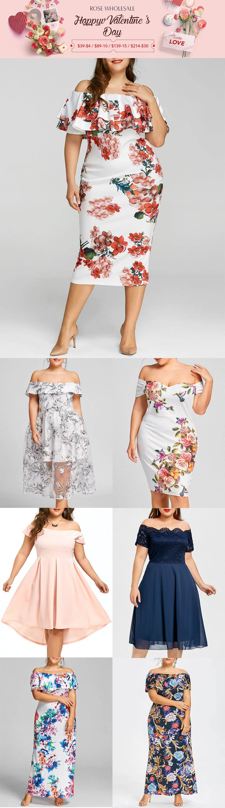Up to 80% off, Rosewholesale plus size off the shoulder print dress | rosewholesale,rosewholesale.com,rosewholesale dress,rosewholesale plus size,rosewholesale dress plus size,rosewholesale valentines day,rosewholesale Easter,off the shoulder dress,print dress,midi dress,mini dress,maxi dress,prom dress,formal dress,valentines day outfit,valentines day idea,floral dress,plus size | #rosewholesale #dress #plussize #offtheshoulder
