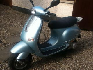 Piaggio Vespa  ET4  125 scooter Blue  2004  Belfast £750