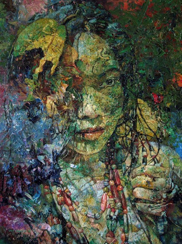 Jef Cablog In 2020 Filipino Art Philippine Art Portrait Painting