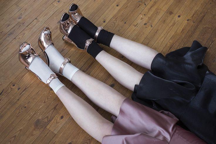 #anniruuth New Collection avec gorgeous heels from #zalando Photographer: Maria Hästbacka Models: Iris B./ Brand model agency Kaisa H./ Modelboom model agency Make-Up: Hanna Vähäpassi Hair: Essi Tynkkynen