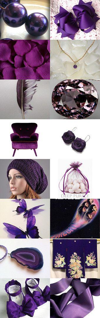 deep purple by Maggie Davis on Etsy--Pinned with TreasuryPin.com