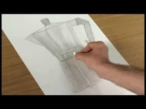 Curso de dibujo y pintura - Fundamentos (Encaje) 1 - YouTube