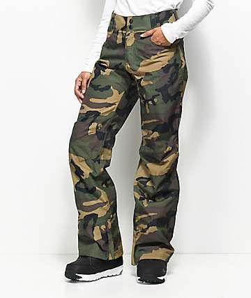 e8d4afa55 Aperture Crystaline Camo 10K Snowboard Pants | School outfit ...