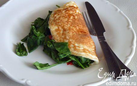 Белковый омлет | Кулинарные рецепты от «Едим дома!»