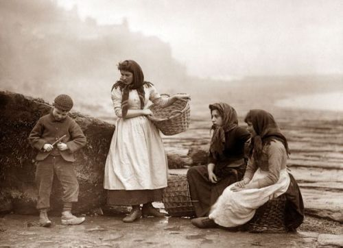Whitby Fisher People...Frank Sutcliffe