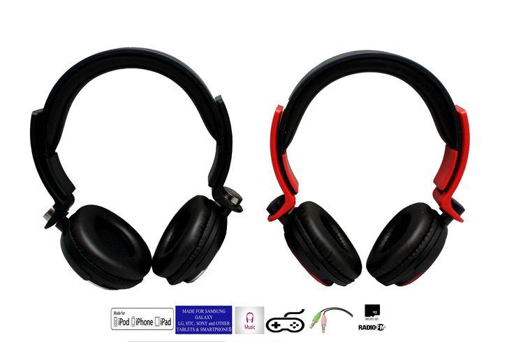 Cascos Bluetooth Inalambrico Con Radio Microsd Manos