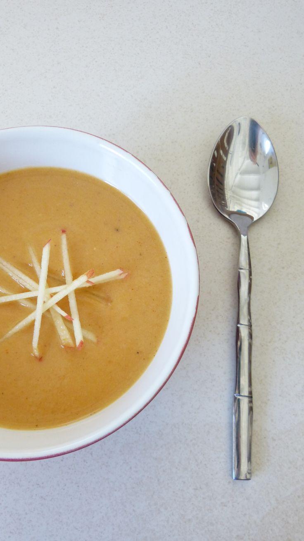 soupe patate douce