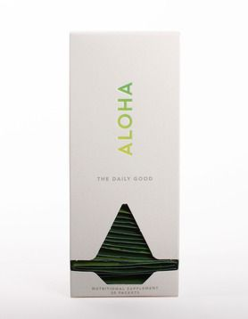 Aloha's daily supplements and whole-food powder green juice for healthier living at home and on the road