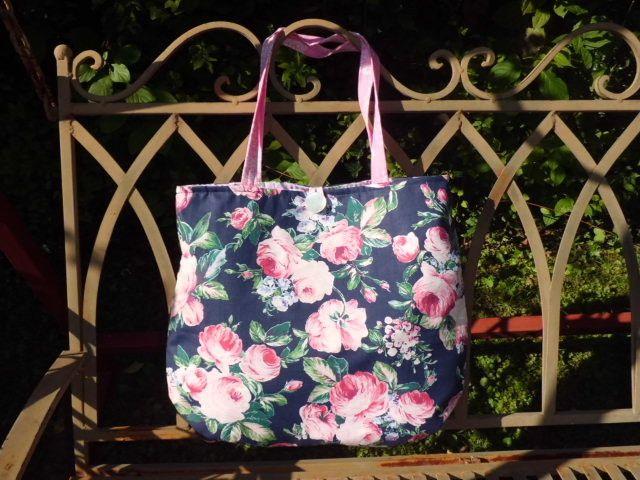 """Einkaufstaschen - TASCHE """" floral collection~ No.8 """" TEEROSEN - ein…"""