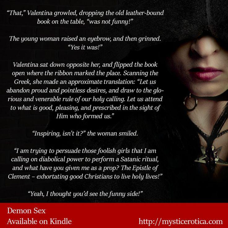 Demon Sex: A Supernatural Erotic Thriller http://www.amazon.com/gp/product/B0174D2I9Q/ #Supernatural #Erotica