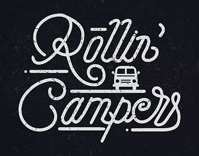 """Check out new work on my @Behance portfolio: """"Rollin Campers"""" http://be.net/gallery/56598547/Rollin-Campers"""