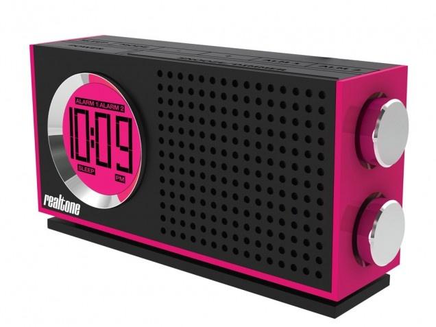 iHome Portable Alarm Clock Radio