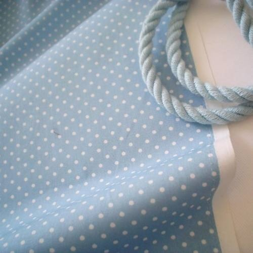 DUSTY BLUE #1 - TINY 2mm DOT SPOT 100% COTTON FABRIC | eBay
