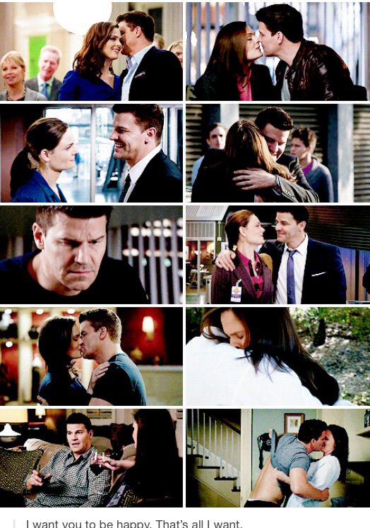 Booth and Brennan. They're nothing without each other