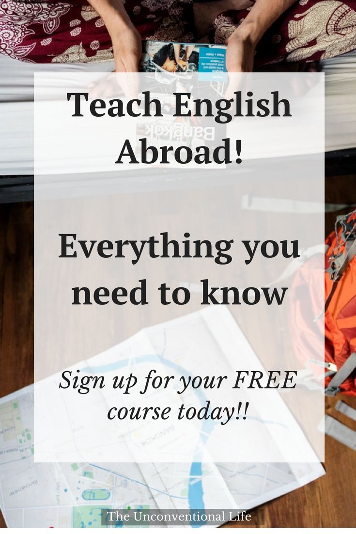 FREE Decide to teach English Abroad series to get your prepared for your #TEFL career! #workabroad #teachenglish #freebie
