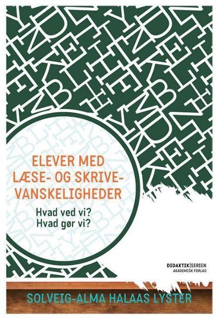 Læs om Elever med læse- og skrivevanskeligheder (Didaktikserien) - hvad ved vi? hvad gør vi?. Udgivet af Akademisk Forlag. Bogens ISBN er 9788750043249, køb den her