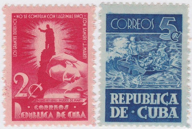 1948-176 ANTILLES CARIBBEAN HAVANA 1947. JOSE MARTI. INDEPENDENCE WAR MH. | eBay