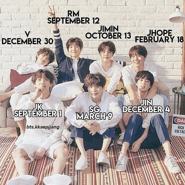 Whens Youre Birthday Mine Is On August 3rd Bts Whens Youre Birthday Mine Is On August 3rd Bts 3rd August Birthda Bts Birthdays Bts Facts Bts Lockscreen