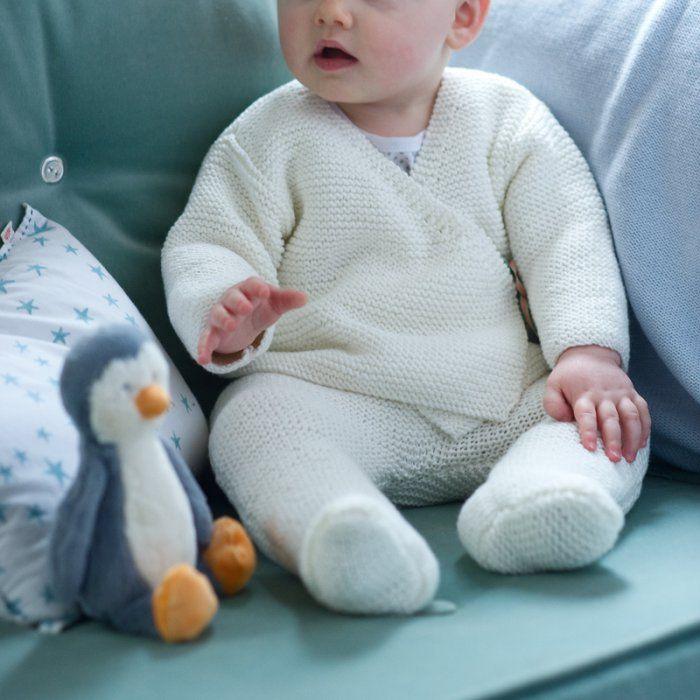 Tricoter pour bébé : les ouvrages des débutantes