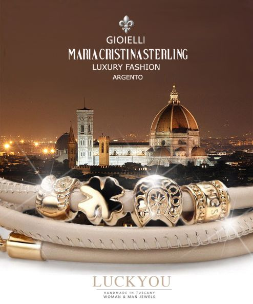 Made in tuscany Alessandro Magrino designer sterling silver fashion jewelry FLORENCE
