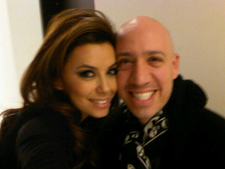 Eva Longoria's photo: Me and my gay husband @robertverdi!