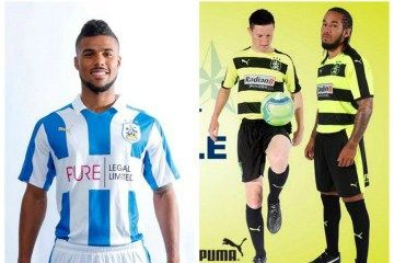 Huddersfield Town FC 2016/17 PUMA Home, Away and Third Kits