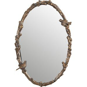 Jessa Oval Oversized Wall Mirror