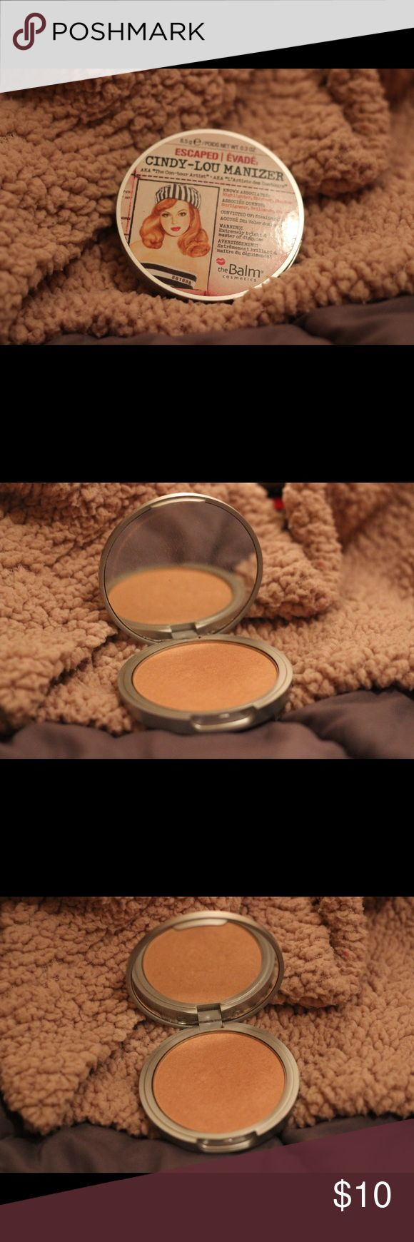 TheBalm Cindy-Lou face illuminator Authentic. Used only a couple times. TheBalm Makeup Blush
