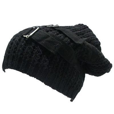 Harsh oversized winter beanie - Emo Gothic - www.attitudeholland.nl #gothic #fashion #style