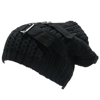 Harsh oversized winter beanie - Emo Gothic - www.attitudeholland.nl #gothic #fashion #style