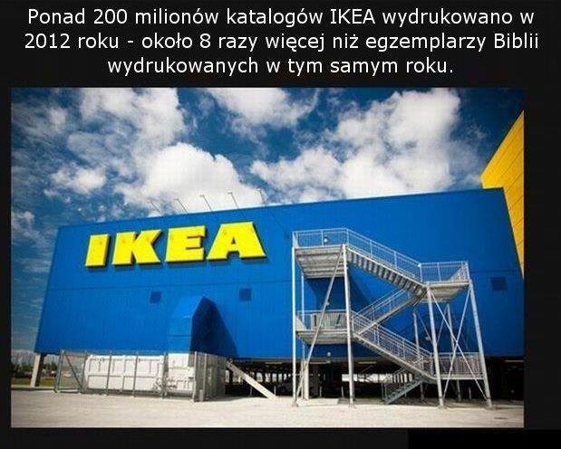 Katalogi IKEA zalewają świat. Czy powinniśmy sie bać? :)