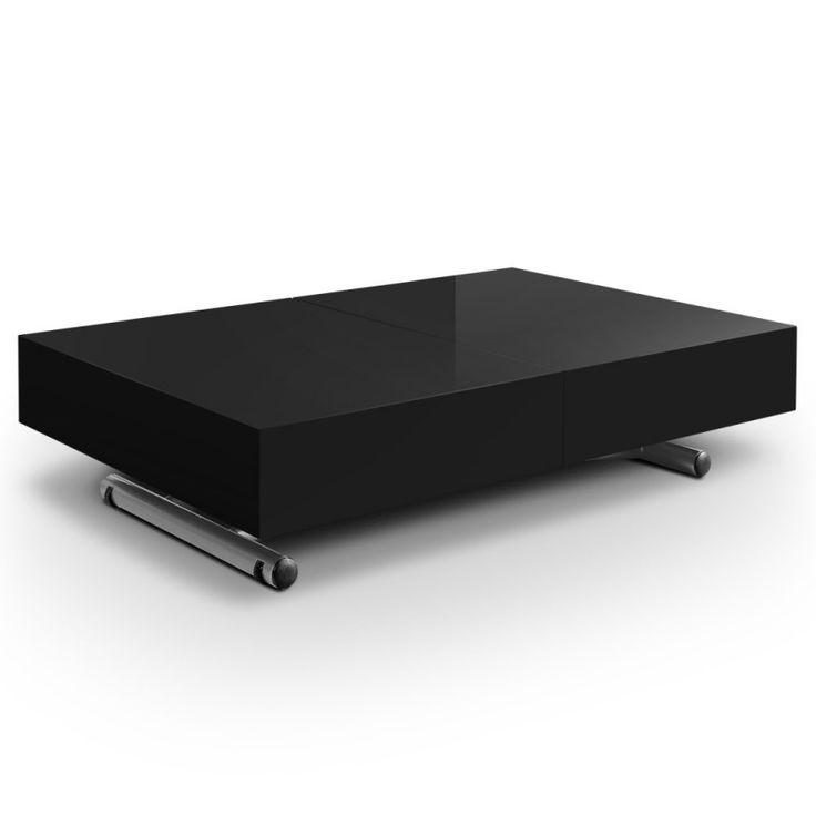 Les 25 meilleures id es de la cat gorie table basse relevable extensible sur - Table basse relevable rallonge ...