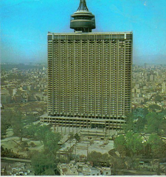 El famoso hotel mexico hoy conocido como el wtc durante for Hoteles en insurgentes