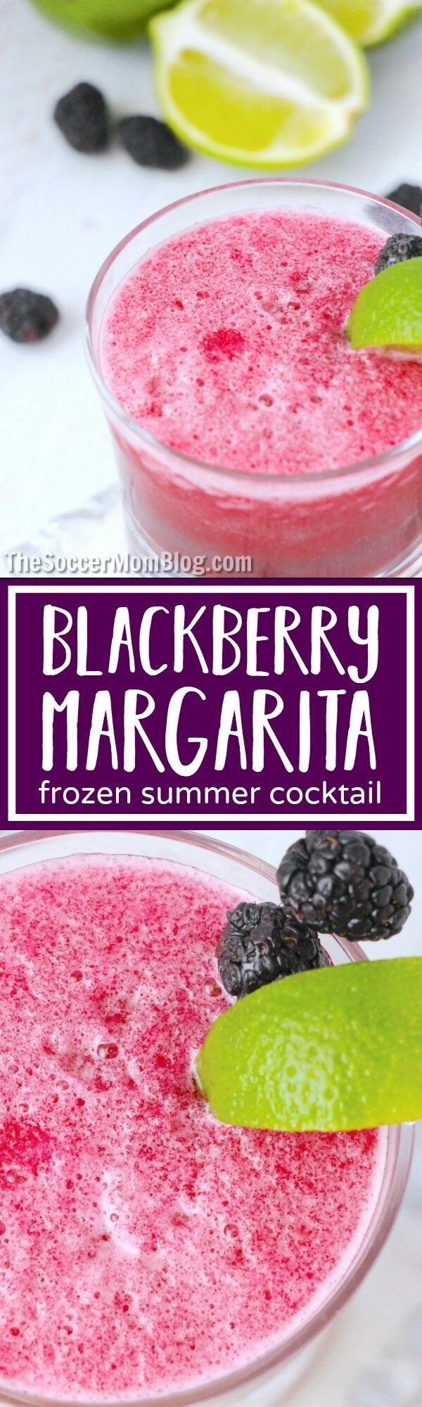 A vibrant pairing of ripe blackberries and smooth tequila, this Fresh Blackberry Margarita is a true summer treat! Perfect for parties or by the pool.
