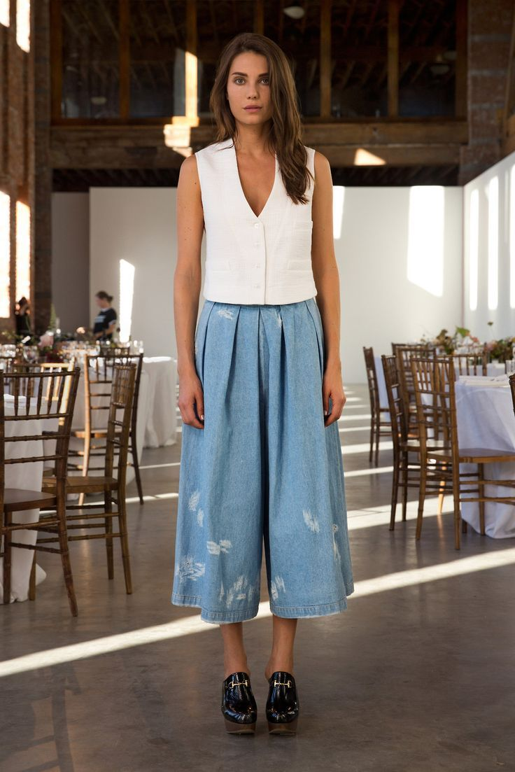 16 Best Images About Culottes Outfits On Pinterest
