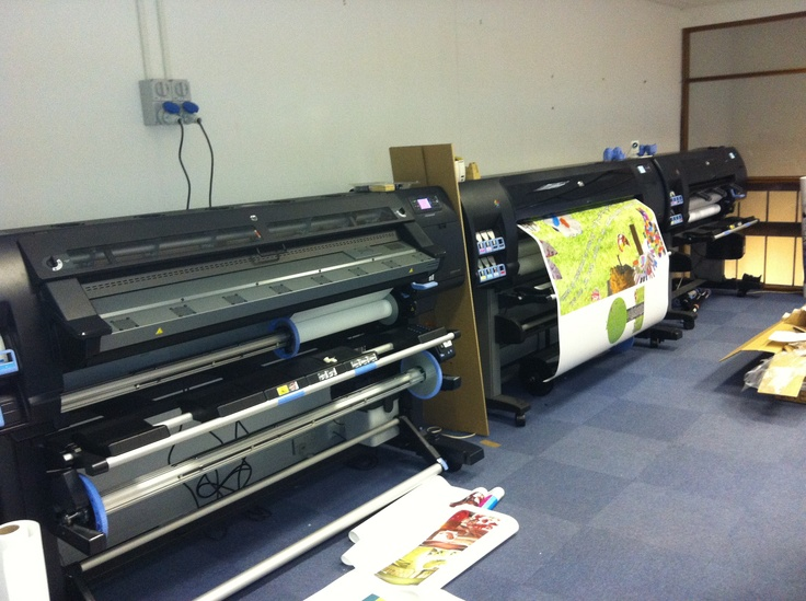 Recent install of HP Designjet L26500 & Z6200 at Leicester print bureau