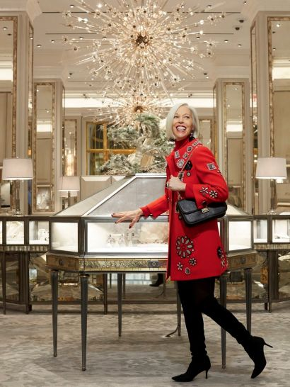Inside the jewelry salon with linda fargo bergdorf goodman - Bergdorf goodman salon ...