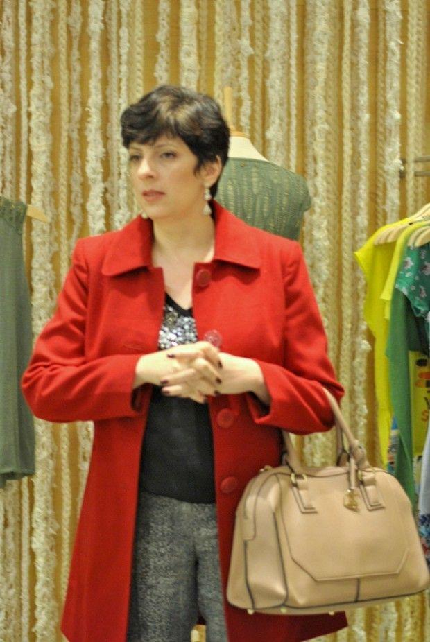 Fashion Blogger << Alessandra Faria >> em Belo Horizonte, na loja Cantão.