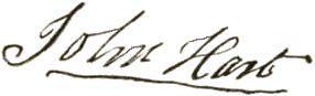John Hart Declaration of Independence | signature as it appears on the declaration of independence