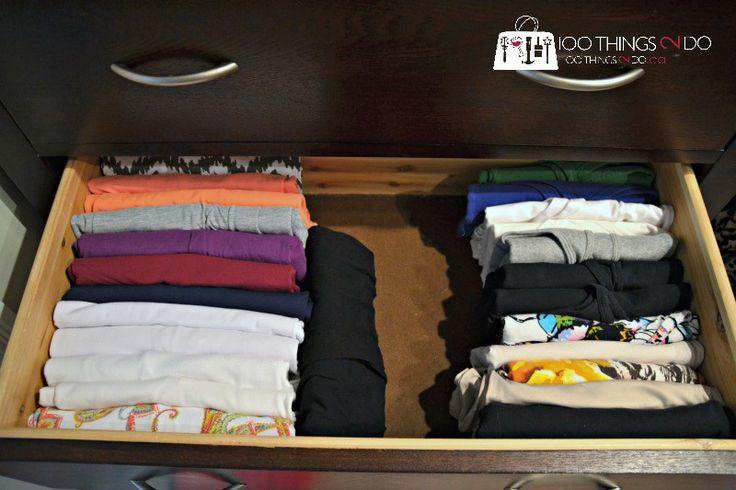 The KonMari Method for organizing your clothing
