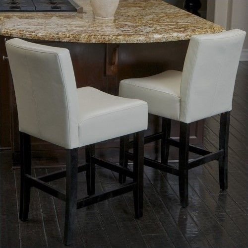 Trent Home 26 Counter Stools In Ivory Set Of 2