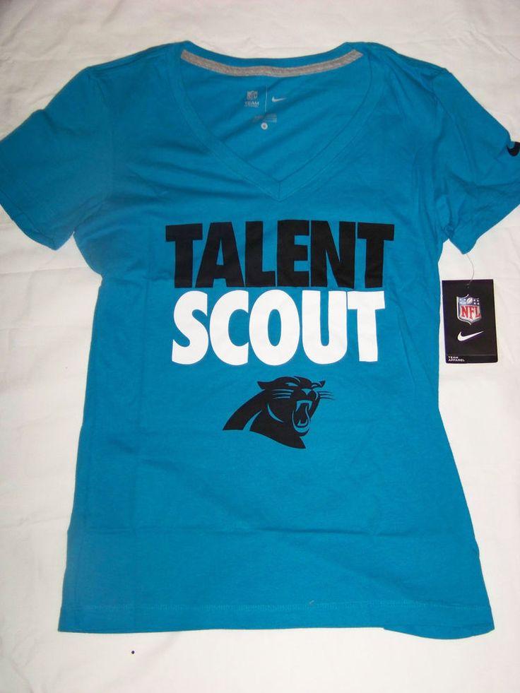 Nike Women's Carolina Panthers Talent Scout Shirt NWT #Nike #Shirt