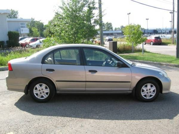 2004 HONDA CIVIC, 119K ONLY, AUTO, CERTIFIED $3700