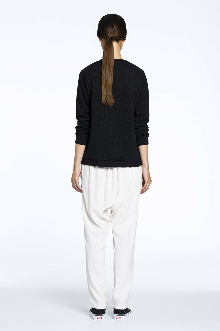 Great Northern Quilted Sweater Black $198.00 AUD