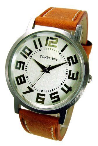 Platform Watch in Orange by TOKYObay TOKYObay. $95.00. Distressed suede band with top stitch finish. Unisex look and colors. Round case in satin silver finish in unisex look. Stainless case back. Clear numbers in metallic silver easy to read