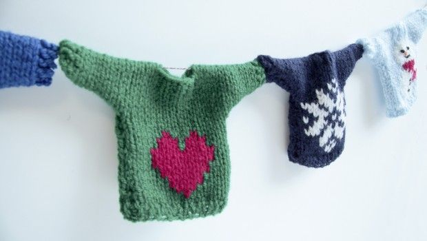 Mini Christmas Jumpers for Save the Children's Christmas Jumper Day