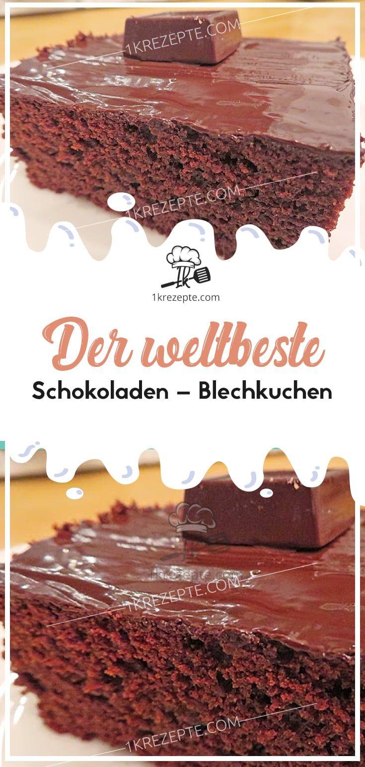 Der weltbeste Schokoladen – Blechkuchen