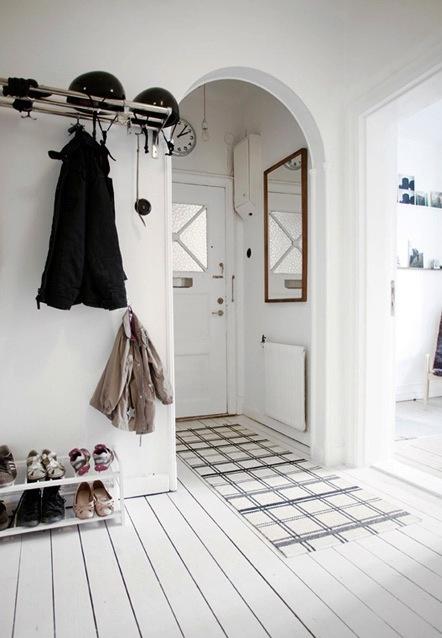 Scandinavian entryway