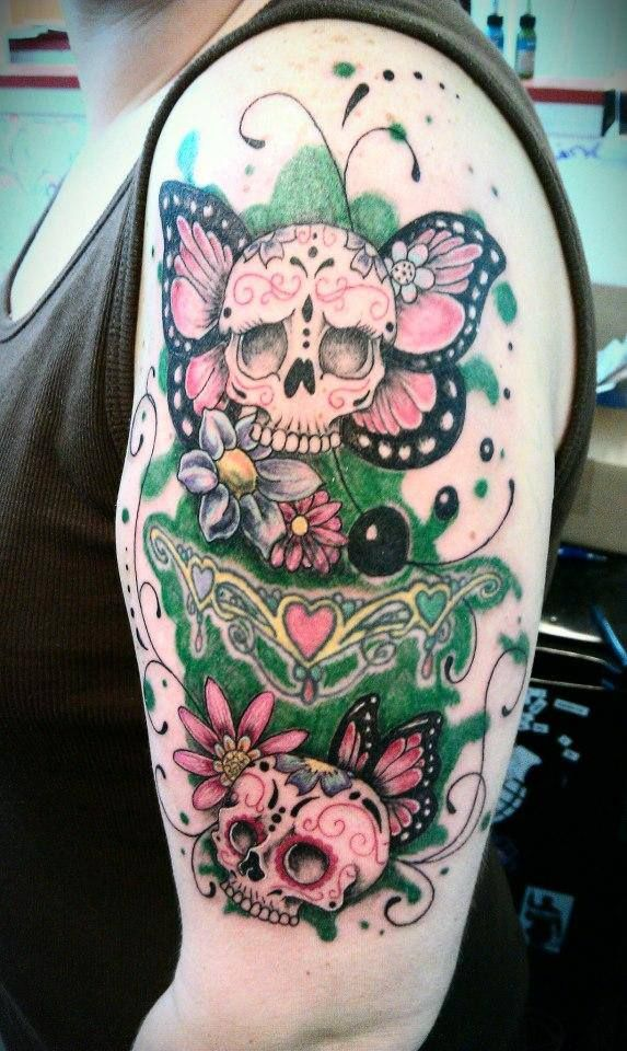 17 best ideas about butterfly sleeve tattoo on pinterest half sleeve tattoos butterfly. Black Bedroom Furniture Sets. Home Design Ideas